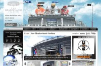 New Meadowlands Stadium Website